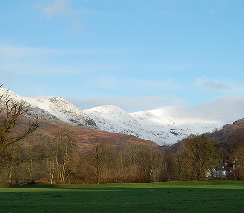 Fairfield from Rothay Park 28th Novemeber 2009