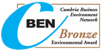 Cumbria Business and Enterprise Network Bronze Award