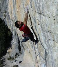 Drew Haigh Climbing