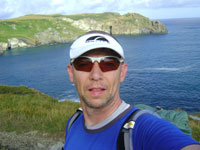 Mark at Watergate Bay (or somewhere near)