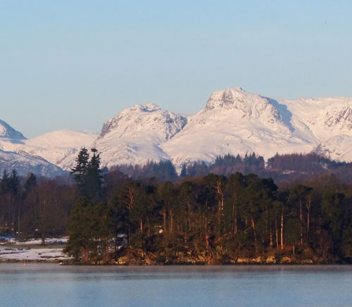 Langdales from Waterhead