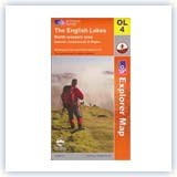 Ordnance Survey EXP OL4 NW Lake District - Laminated