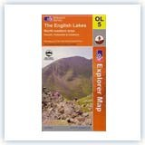 Ordnance Survey EXP OL5 NE Lake District - Laminated