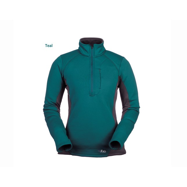 Rab Womens Powerstretch Zip Top