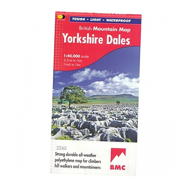 BMC Yorkshire Dales Map