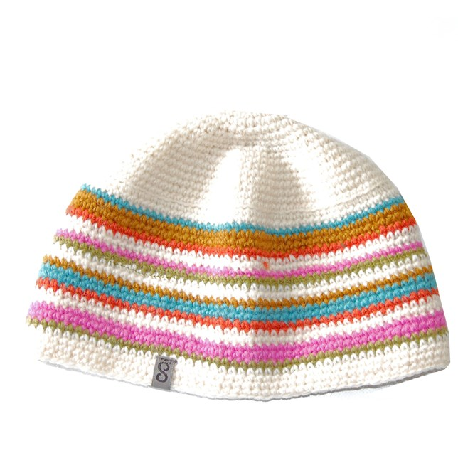 crochewhite-striped