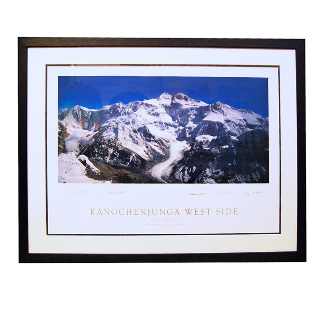 Kangchenjunga - Framed and Signed Print
