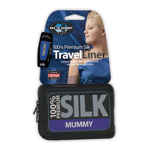 Sea to Summit Silk Liner - Mummy