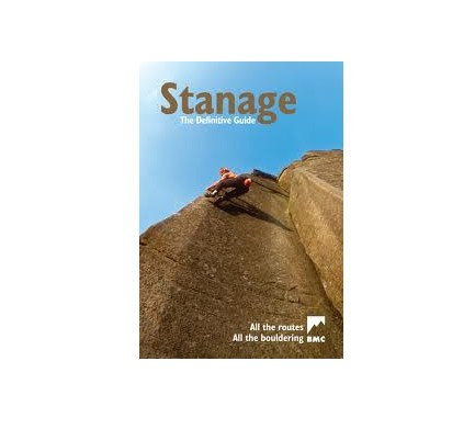 Stanage BMC Climbing Guidebook