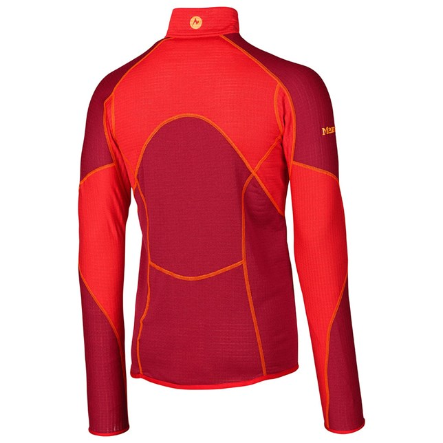 thermo-half-zip-back