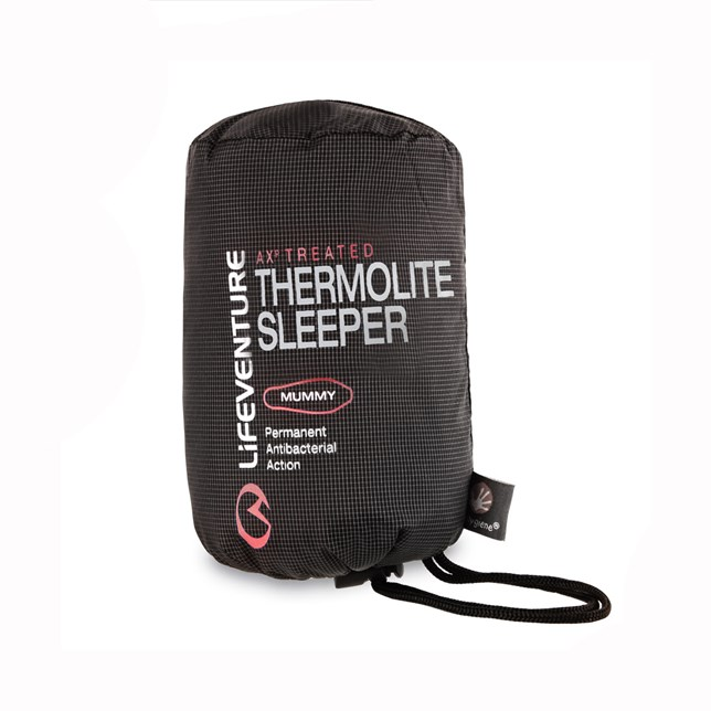 LifeVenture Thermolite Travel Sleeper Mummy