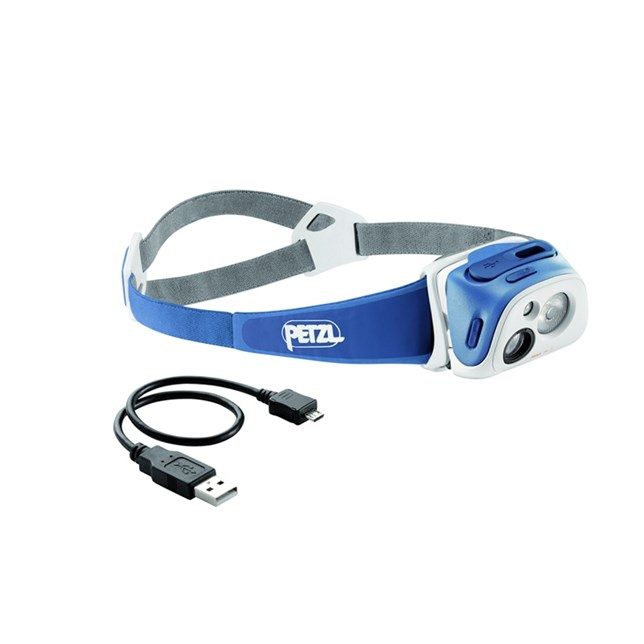 Petzl Tikka R+ Headtorch - Blue