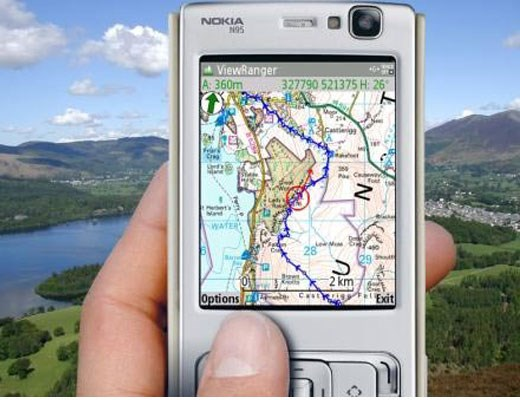 ViewRanger Smartphone GPS Card - Northern England